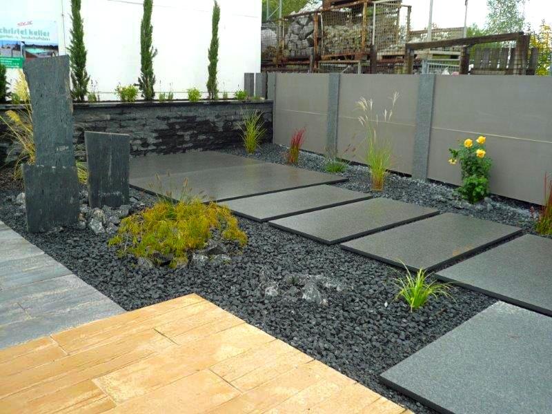 Garten mit natursteinen gestalten